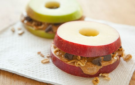 Snack Idea: Peanut Butter – Applewiches