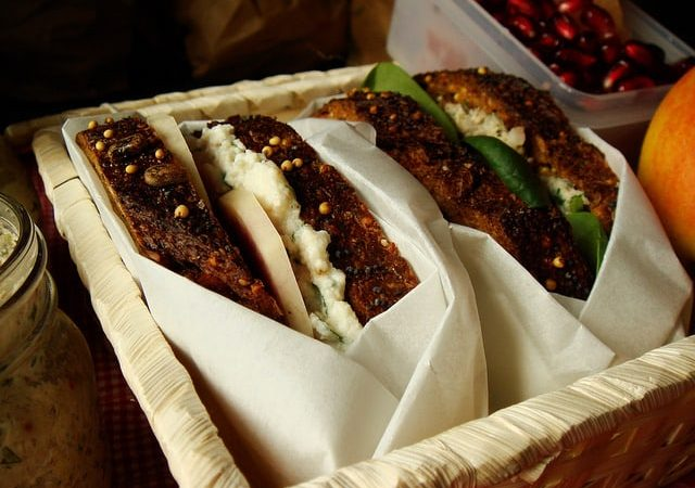 The Amazing Sandwich: Herbed Farmers Cheese