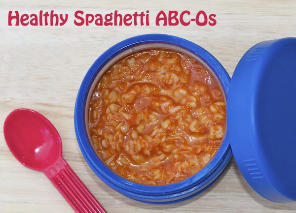 Healthy Spaghetti-ABC-O's Recipe