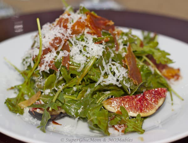 Fig Salad with Raisin Vinaigrette Recipe