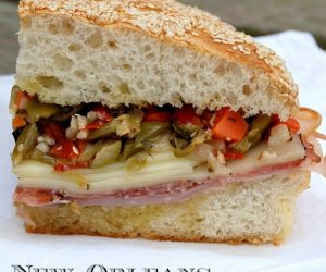 authentic new orleans muffuletta recipe. easy to make and a crowd pleaser!