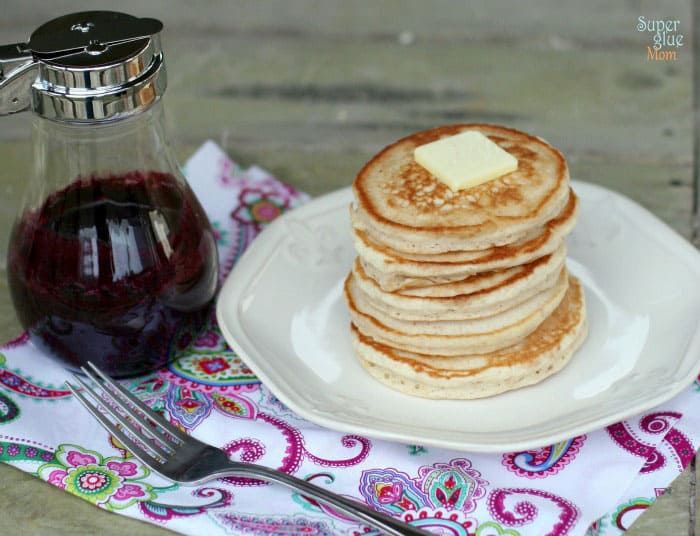 Better than ihop blueberry syrup recipe laura fuentes you can also grab our easy recipe for gluten free pancakes if you need it weve found that our gluten free pancakes are the perfect match for this tasty ccuart Images