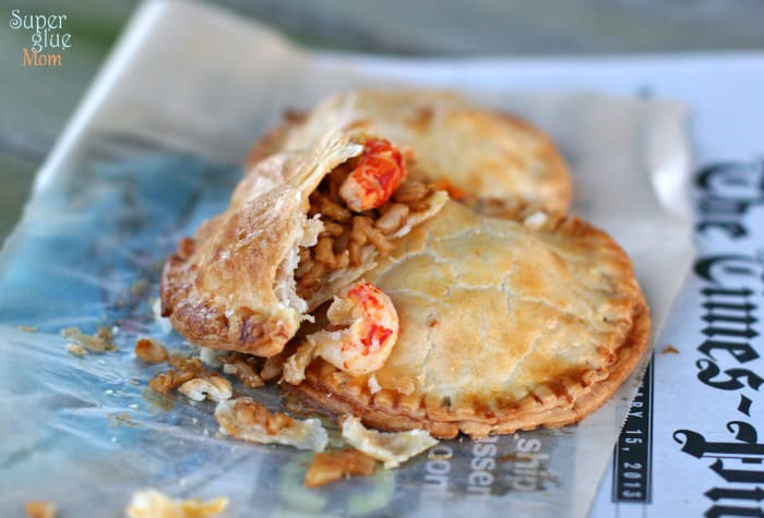 New Orleans Jazz Fest Crawfish Pie Recipe SuperGlueMom.com