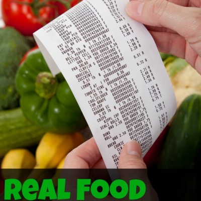 "How I feed my family ""real food"" on a budget"