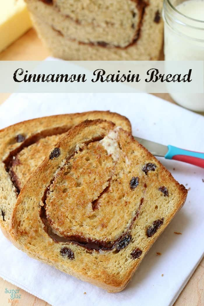 Easy Homemade Cinnamon Raisin Bread Recipe