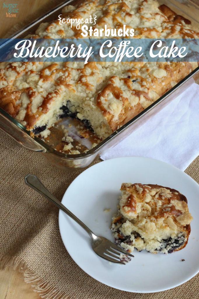 Blueberry Coffee Cake Light Recipe -Starbucks Copycat