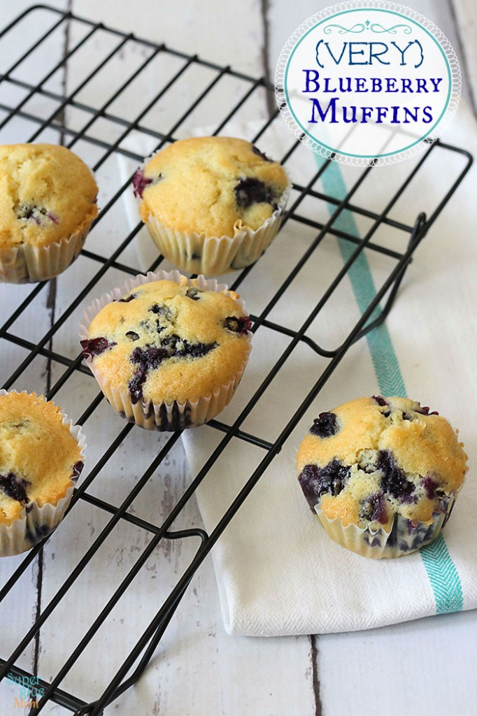 Easy blueberry muffin recipes from scratch