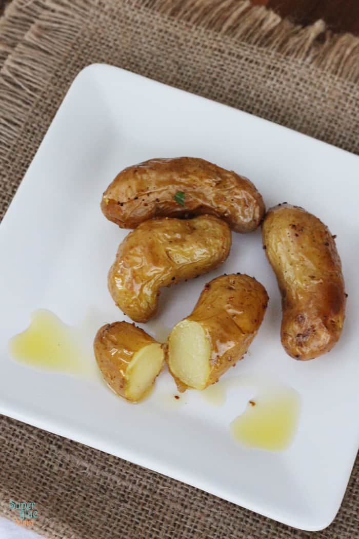 How to Roast Fingerling Potatoes & Recipe