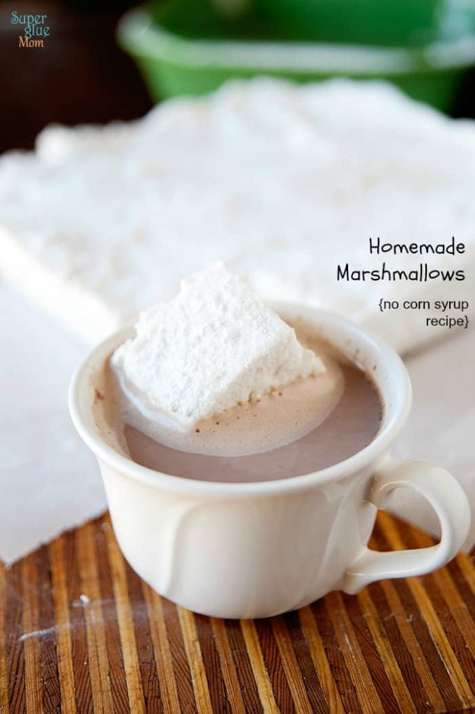 homemade marshmallows no corn syrup recipe #realfood #gaps