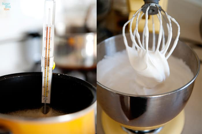 homemade marshmallows being made with no corn syrup recipe #realfood #gaps
