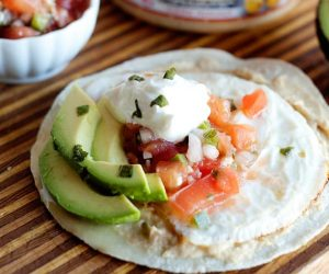 Easy to make and delicious to eat these hummus tostadas recipe will rock your world.