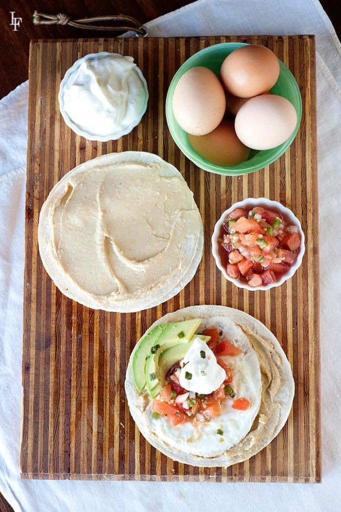 Fresh ingredients is all you need to make these delicious hummus tostadas recipe that will rock your world.