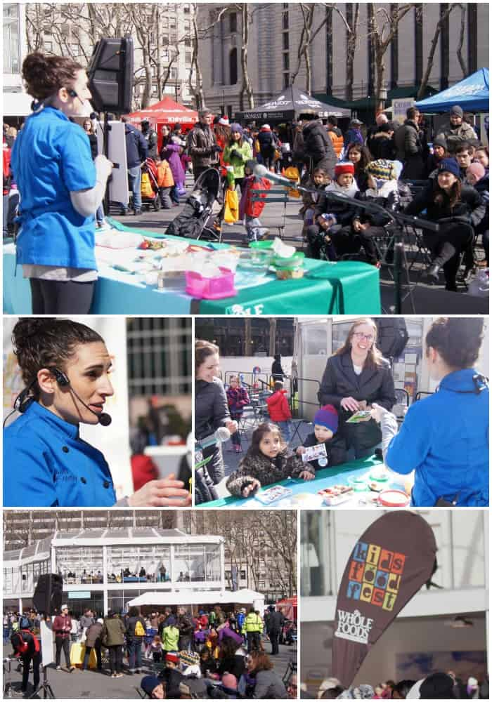laura fuentes and carla hall kids food festival nyc 2014
