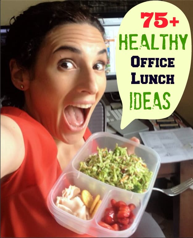 easy healthy office lunch ideas
