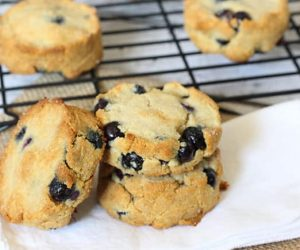 Grain Free Blueberry Scones | Paleo Recipe