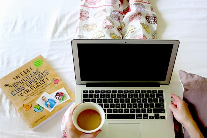 working cup of coffee - cafe au lait recipe