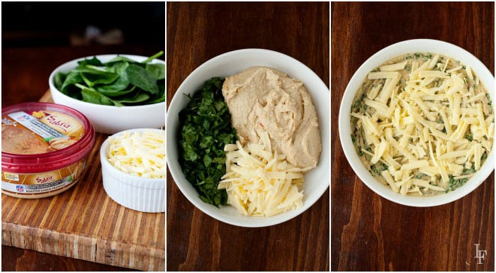 hummus spinach dip recipe ingredients