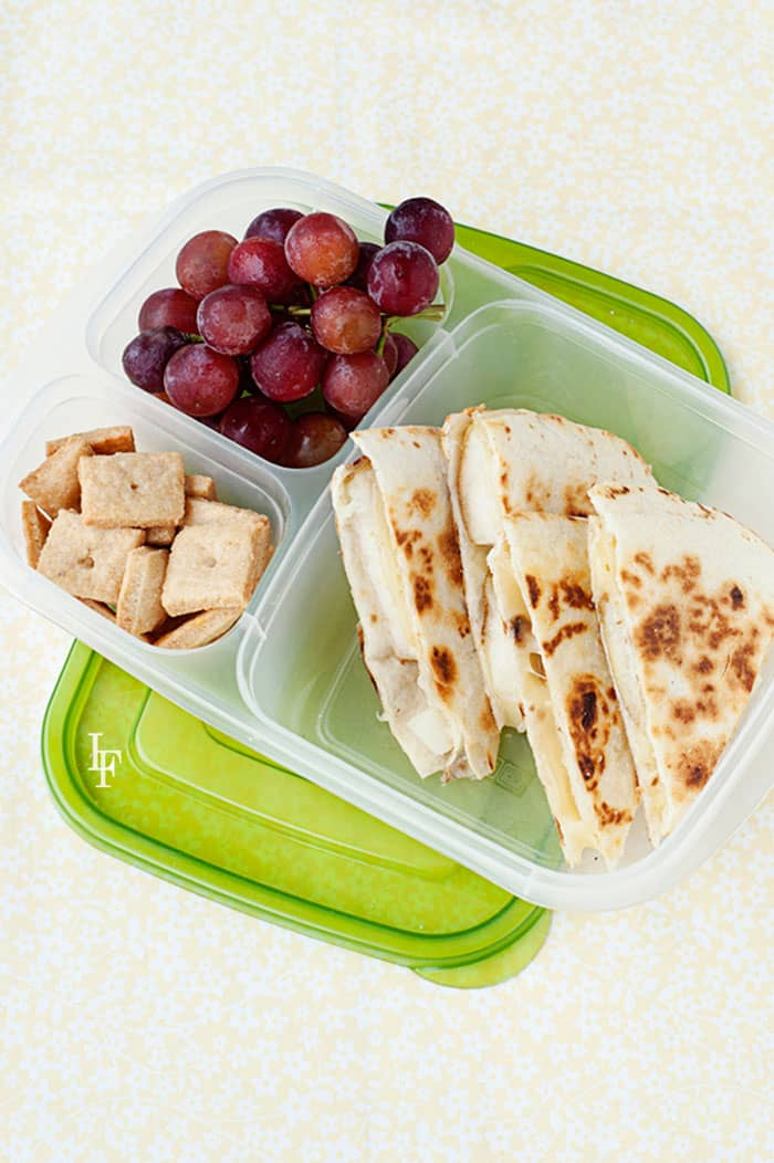 lunchbox-quesadillas recipe