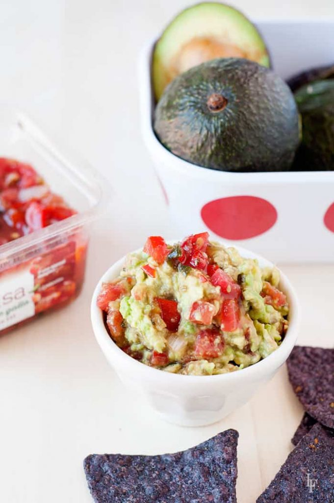 two ingredients is all you need to make this easy guacamole recipe in about a minute.