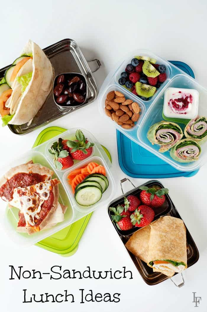 Non Sandwich School Lunch Ideas For The Whole Family