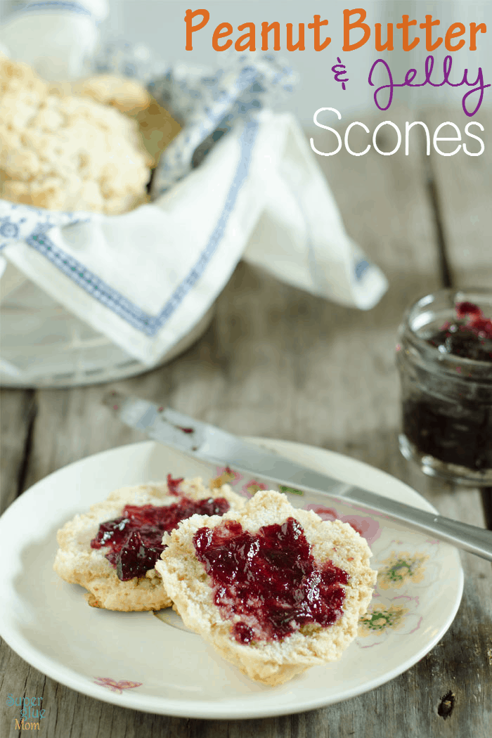 Peanut Butter and Jelly Scones Recipe