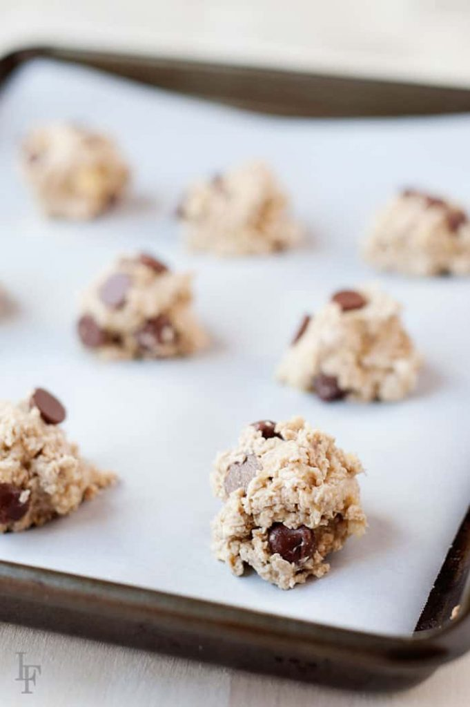 easy to make 2 ingredient cookies are the perfect snack food or treat!
