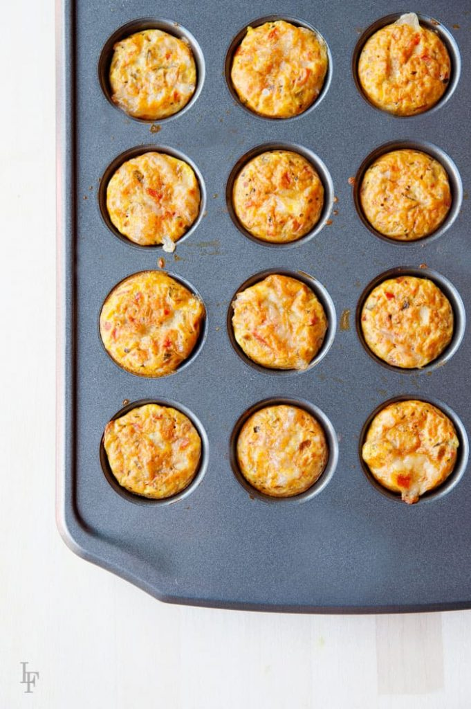 how to make mini quiches for the lunchbox