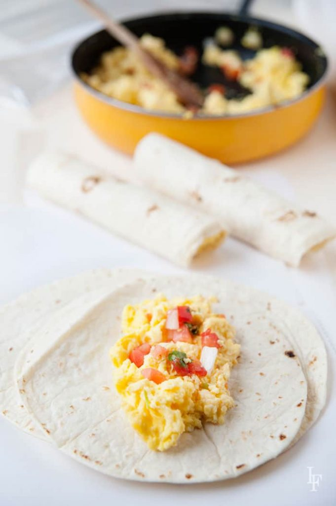 easy make-ahead breakfast burritos that are freezer friendly. way better than the store bought ones!