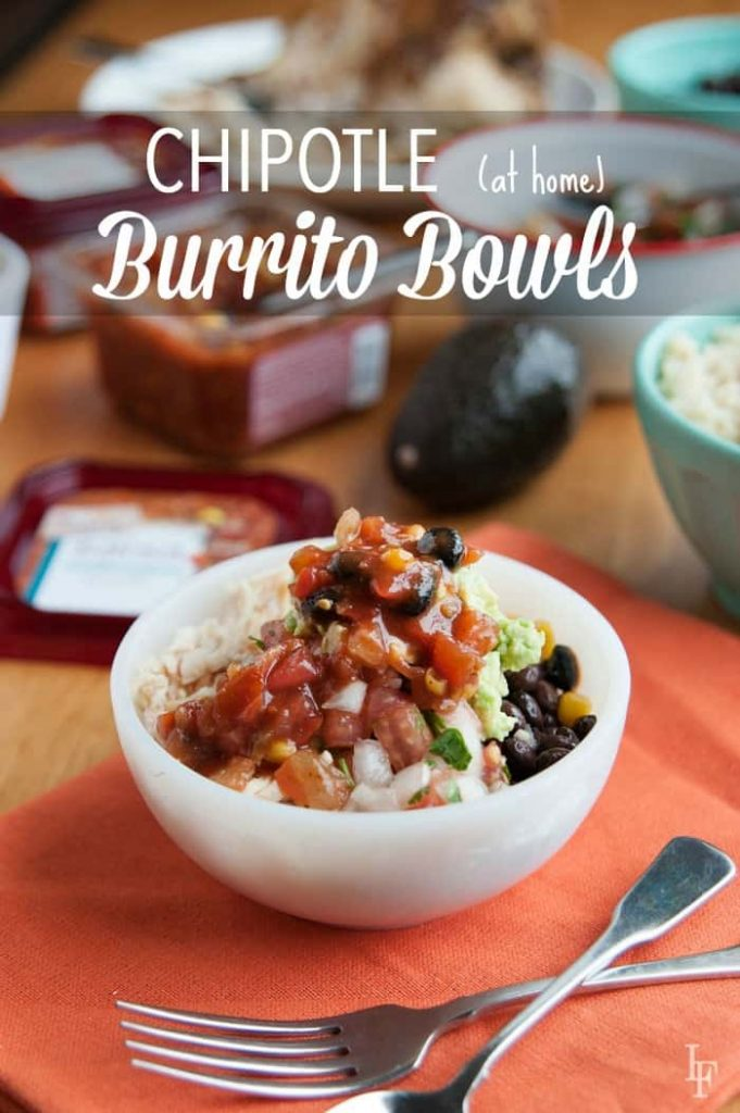 Want to make Chipotle bowls at home for your family? check out how easy and fun this can be!
