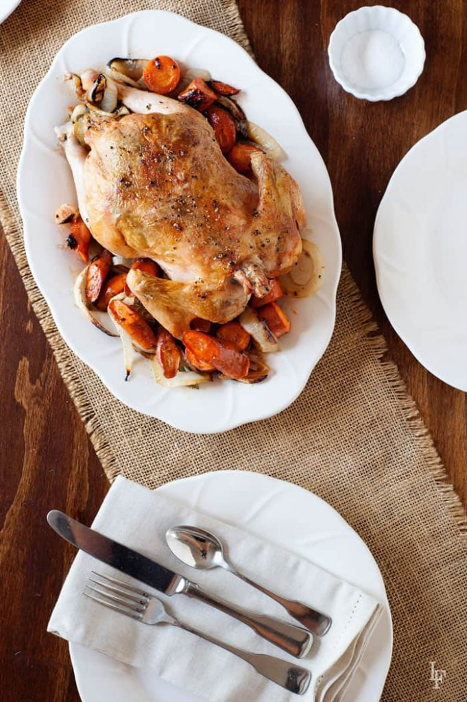 Easy method to roast the perfect chicken every time. Juicy, flavorful, and delicious! Lemon Rosemary Recipe