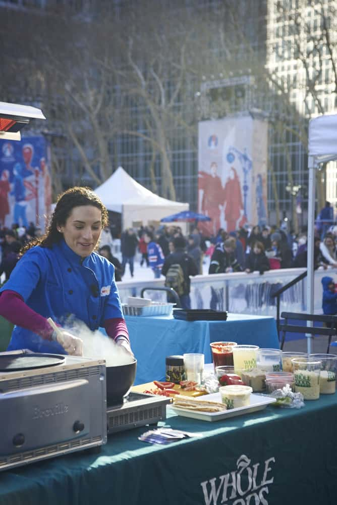 cooking soup at the new york kids food festival laura fuentes