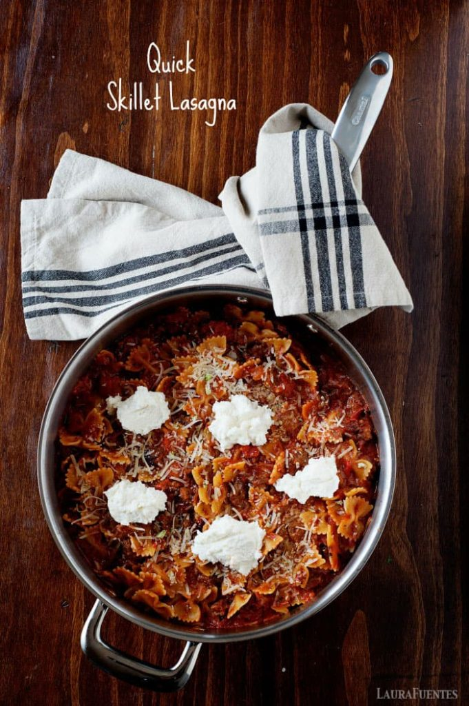 this quick skillet lasagna is an easy 30minute weeknight meal