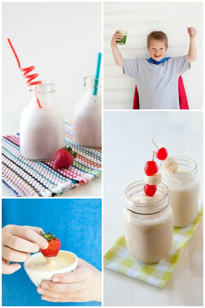 super healthy and delicious smoothies and homemade drinks: and dips: homemade yogurt drink recipe, green smoothie recipe, dreamcicle dip, Elvis shakes