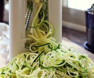 How to Store Spiralized Zucchini & Veggies