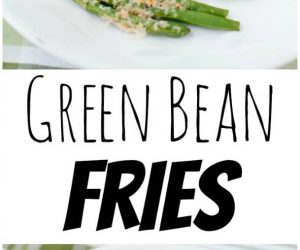 Parmesan Green Bean Fries from LauraFuentes.com