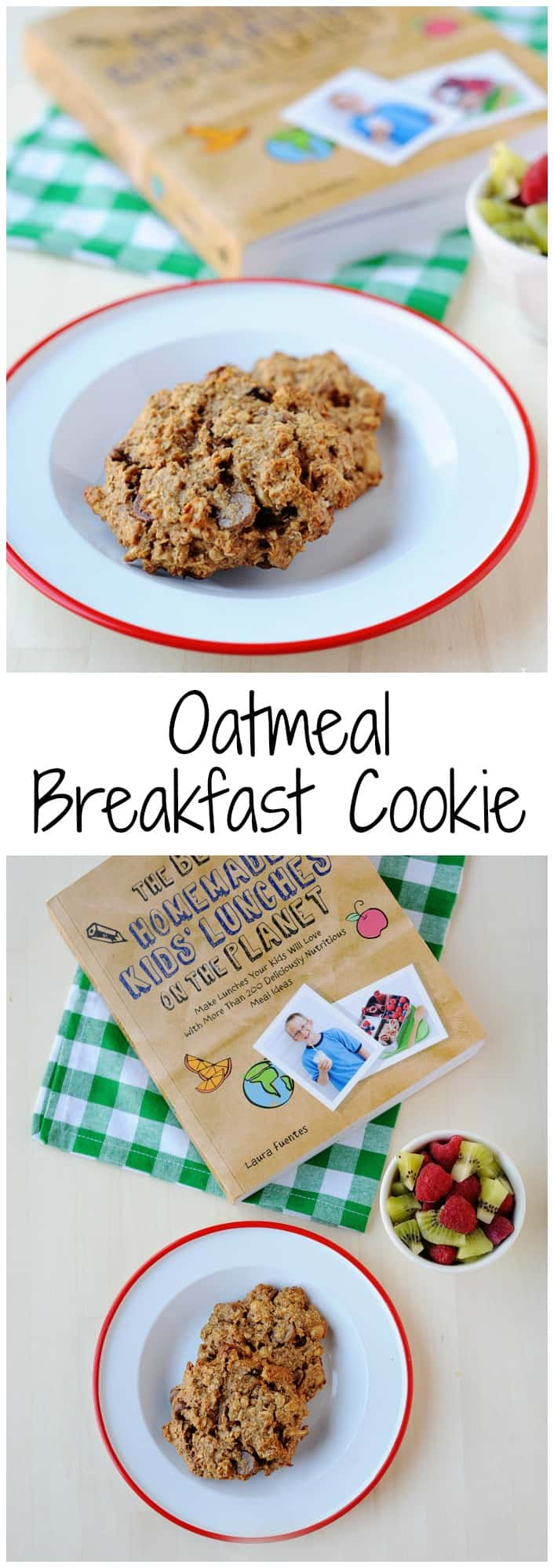These easy oatmeal breakfast cookies are made in a single bowl and totally kid approved. Included in the post is also the gluten free recipe.