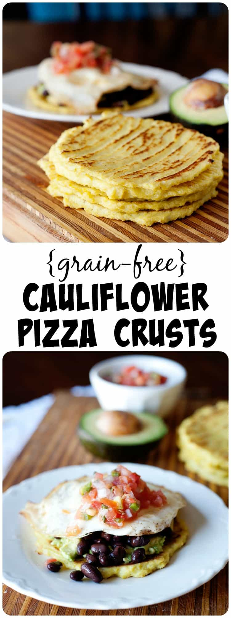 These grain free cauliflower pitas are great as pizza crusts and anything else you'd use a pita for!