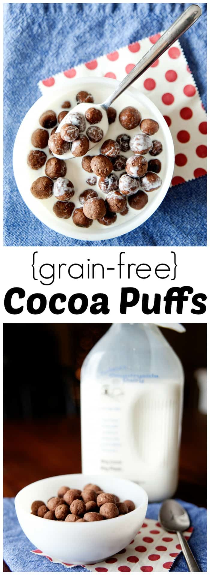 This homemade grain free cocoa puffs recipe is one your entire family will love. Standard and gluten free cocoa puffs recipe are also included.