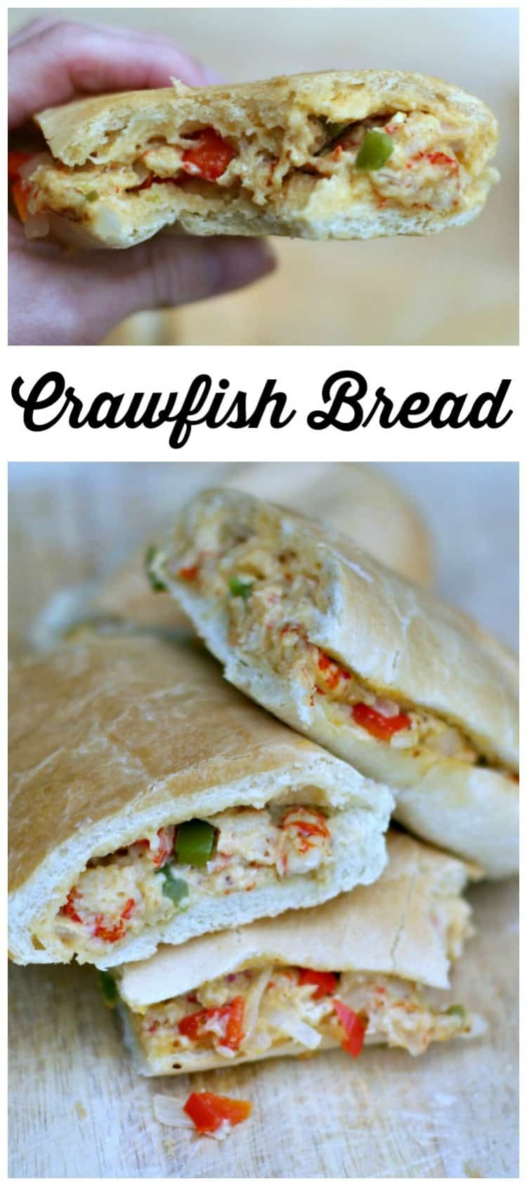 This New Orleans Jazz Fest Crawfish Bread Recipe is easy to make and filled with authentic flavors in every bite!