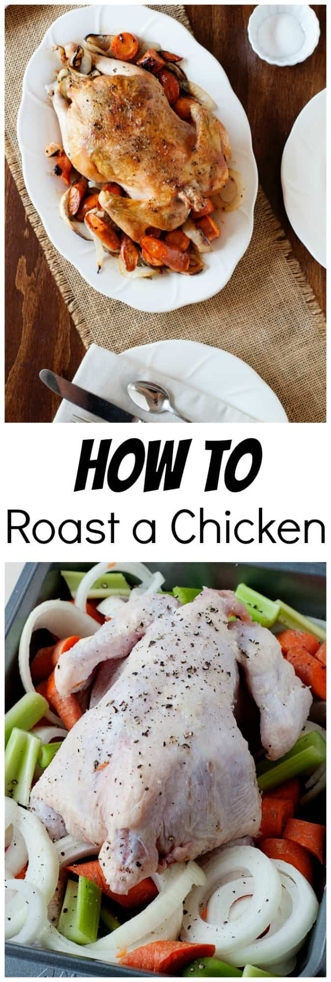 Have you wondered how to roast the perfect chicken so it comes out perfectly juicy and delicious? You have to try this lemon rosemary recipe.