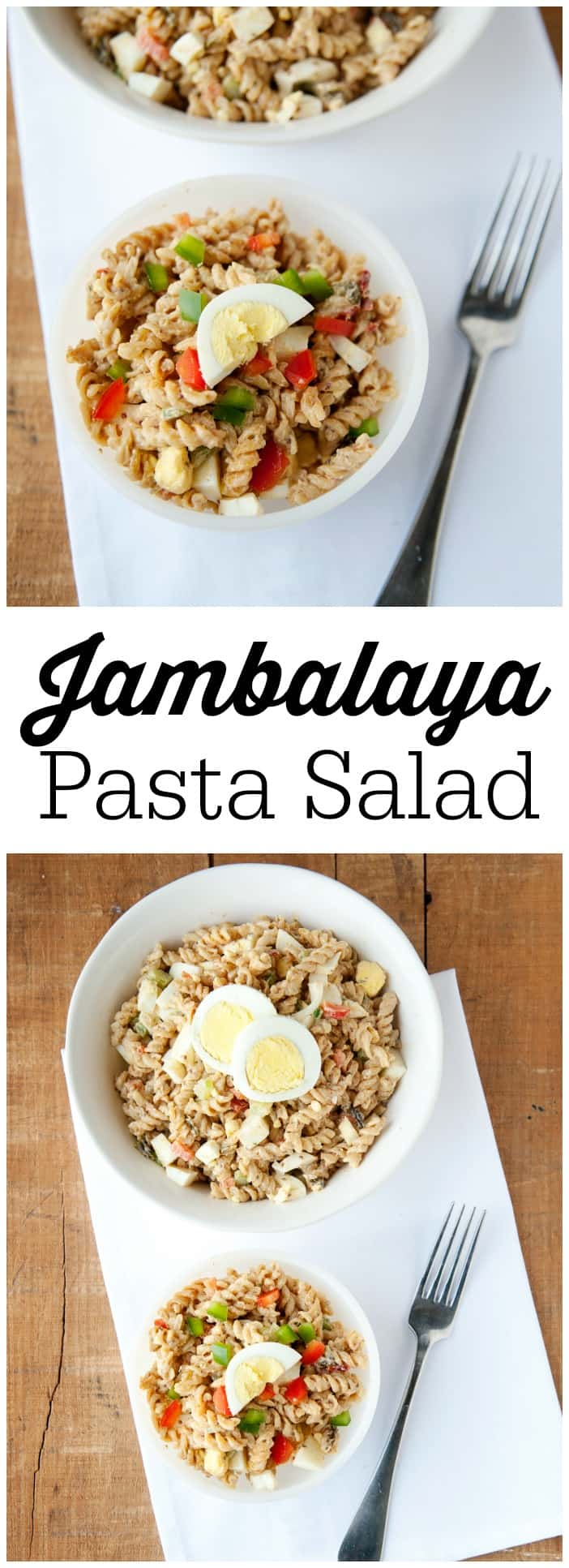 Jambalaya pasta salad recipe this jambalaya pasta salad recipe is super easy to make and full of new orleans flavor forumfinder Image collections
