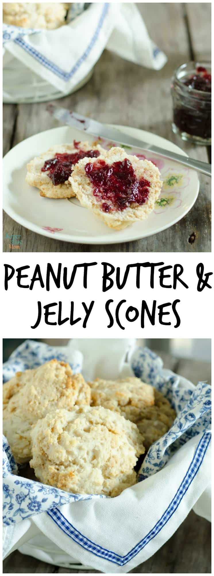 You are going to wonder where this peanut butter and jelly scones recipe has been hiding this whole time! Easy and delicious… you better double the recipe.