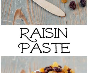 Raisin Paste from LauraFuentes.com