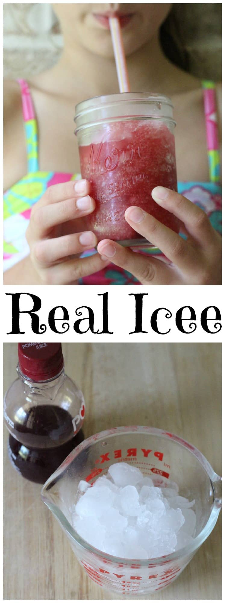 My homemade Icee recipe has a fraction of the sugars, none of the artificial colors, real flavor and all of the
