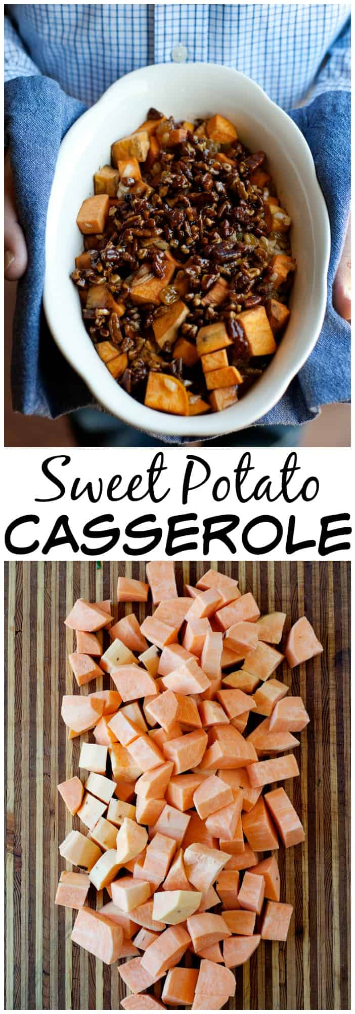 This paleo sweet potato casserole with pecans is one the entire family will love. No refined sugars, no marshmallows, just real good ingredients.