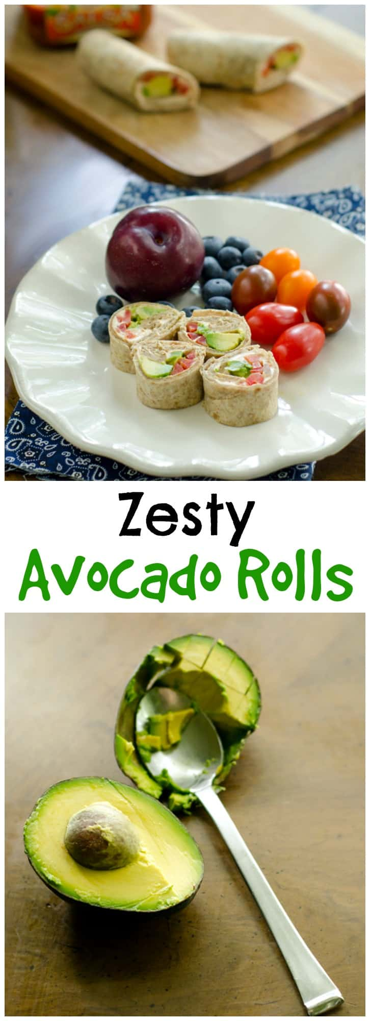 These avocado rolls are easy to make and beyond delicious. Being fish free, they make the perfect easy lunch!