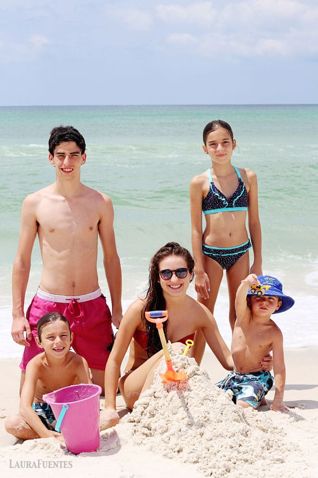 Fuentes Family Beach Vacation Summer 2015
