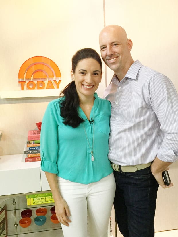 laura fuentes and eric schneller today show set