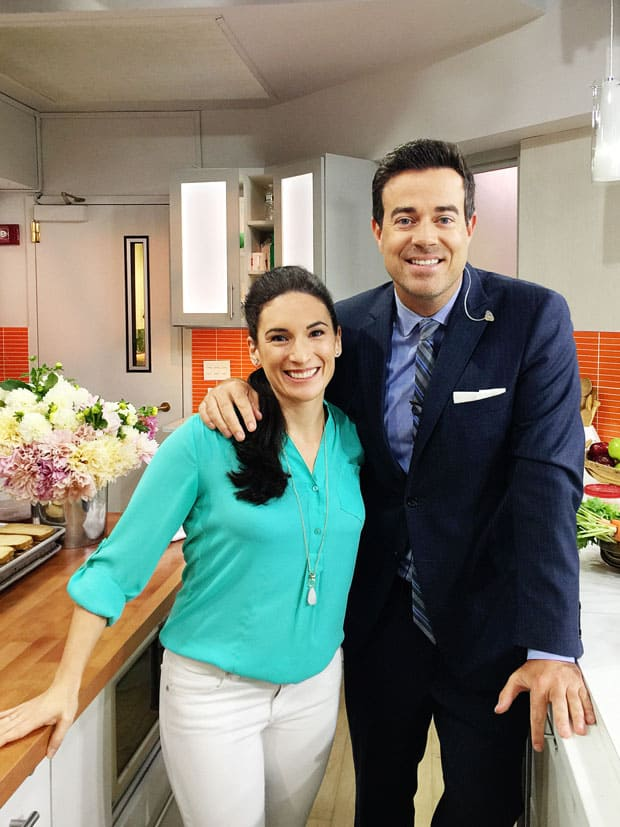 laura fuentes and carson daly today show kitchen