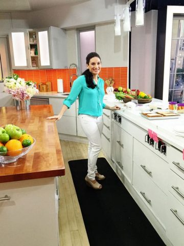 laura fuentes in today show kitchen